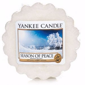 YANKEE CANDLE Wax Wosk Tarta SEASON OF PEACE - Czas pokoju
