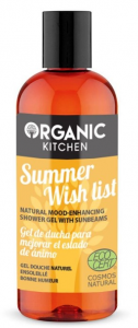 Organic Kitchen Żel pod prysznic SUMMER WISH LIST Mango Miód 260ml