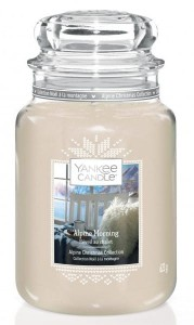 YANKEE CANDLE Słoik duży ALPINE MORNING