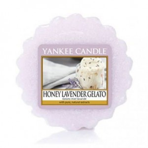 YANKEE CANDLE Wax Wosk Tarta HONEY LAVENDER GELATO