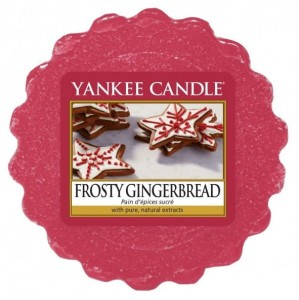 YANKEE CANDLE Wax Wosk Tarta FROSTY GINGERBREAD