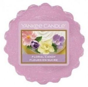YANKEE CANDLE Wax Wosk Tarta FLORAL CANDY