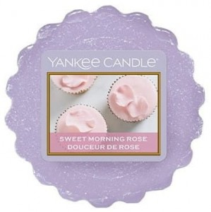YANKEE CANDLE Wax Wosk Tarta SWEET MORNING ROSE