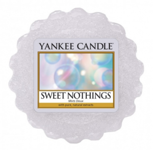 YANKEE CANDLE Wax Wosk Tarta SWEET NOTHINGS (słodkie nic)