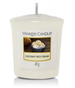 YANKEE CANDLE Świeczka sampler COCONUT RICE CREAM 49g