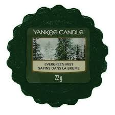 YANKEE CANDLE Wax Wosk Tarta EVERGREEN MIST