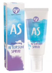 ECO COSMETICS ey! AfterSun Rozświetlający spray po opalaniu SPF10 100ml