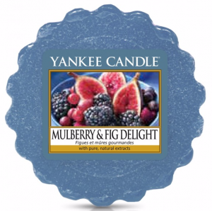YANKEE CANDLE Wosk Wax Tarta MULBERRY & FIG DELIGHT - Morwa i figa