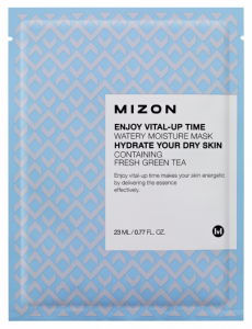 MIZON Nawilżająca maska z zieloną herbatą - Enjoy Vital-Up Time Watery Moisture Mask 23ml