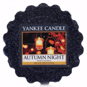 YANKEE CANDLE Wax Wosk Tarta - AUTUMN NIGHT (Jesienna noc)