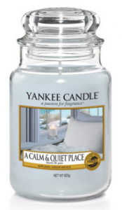 YANKEE CANDLE Słoik duży A CALM AND QUIET PLACE