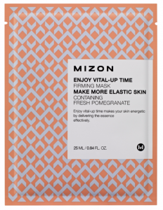 MIZON Ujędrniająca maska z granatem - Enjoy Vital-Up Time Firming Mask 25ml