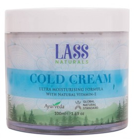 LASS Naturals Cold Cream - Krem ochronny z witaminą E 100ml