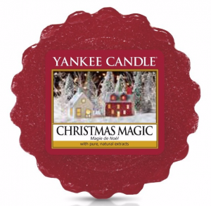 YANKEE CANDLE Wosk Wax Tarta CHRISTMAS MAGIC (Magia Świąt) 22g