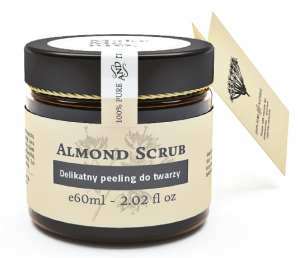 Make Me Bio Almond Scrub - delikatny peeling do twarzy 60ml